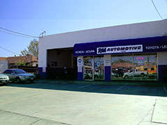 RM Automotive Inc. | shop front in northridge