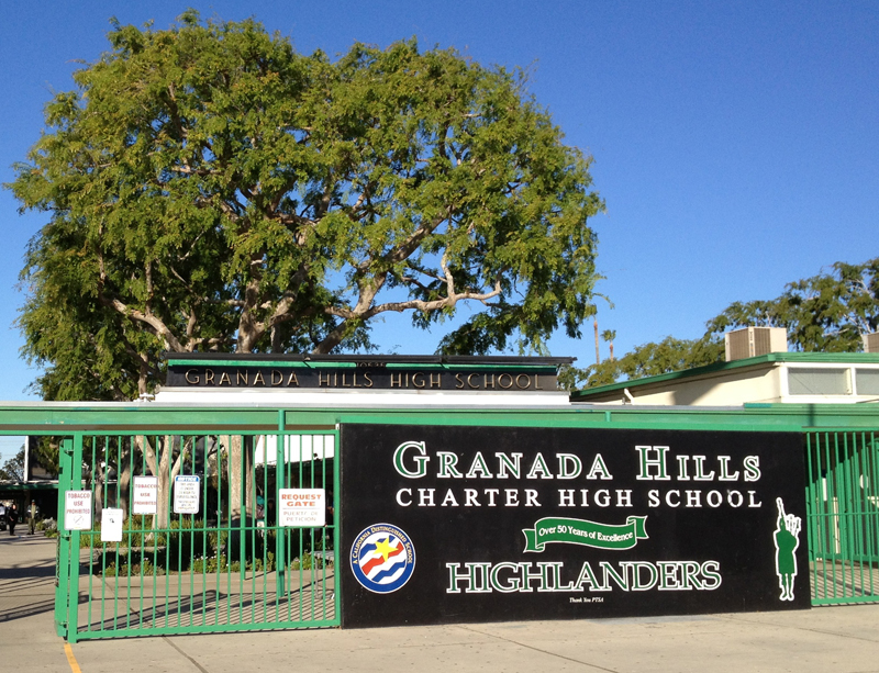 Proud Sponsor of Granada Hills High School Athletic Department
