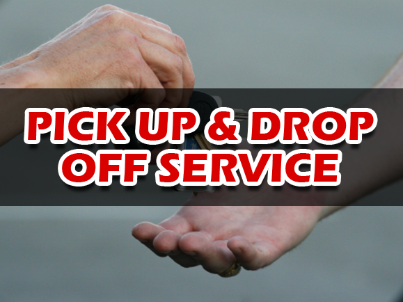 We are now offering to Pick up your Car and to Drop it off after Service