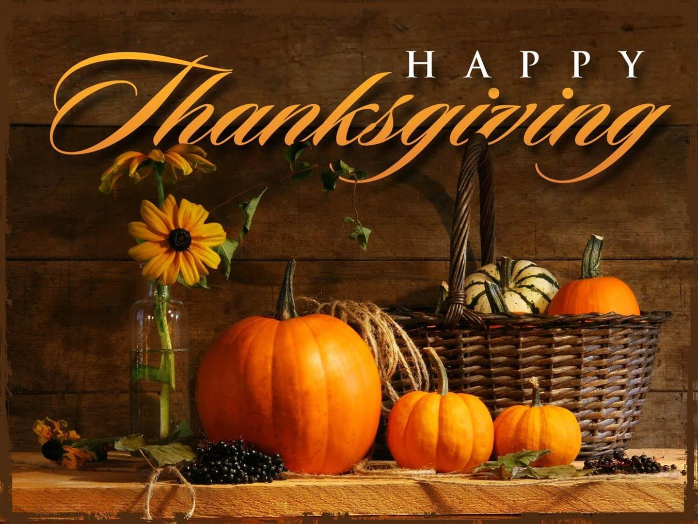 Happy Thanksgiving to Everyone 2019